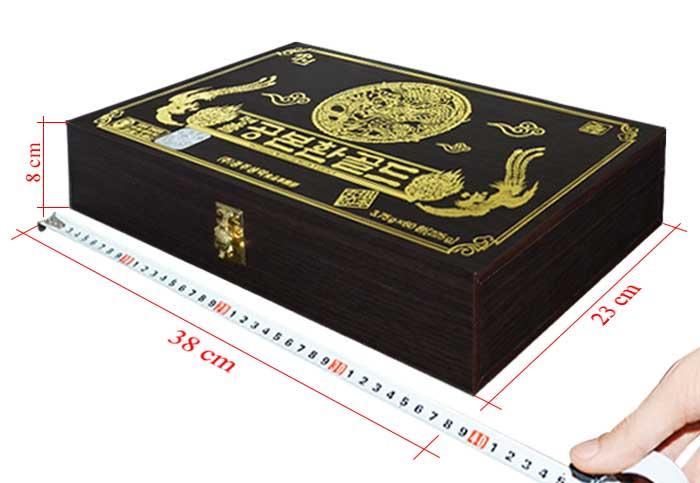 Đông trùng hạ thảo Hàn Quốc hộp gỗ 60 viên 5