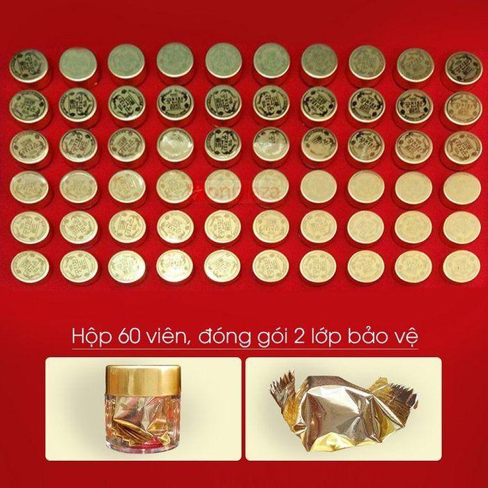 Đông trùng hạ thảo Hàn Quốc hộp gỗ 60 viên 7