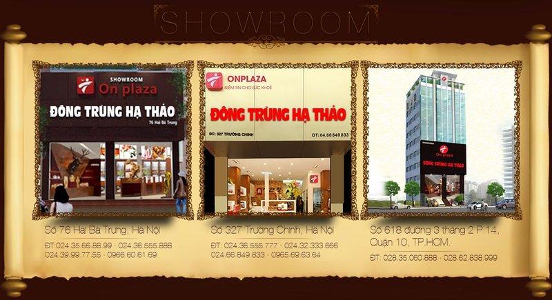 địa chỉ showroom onplaza