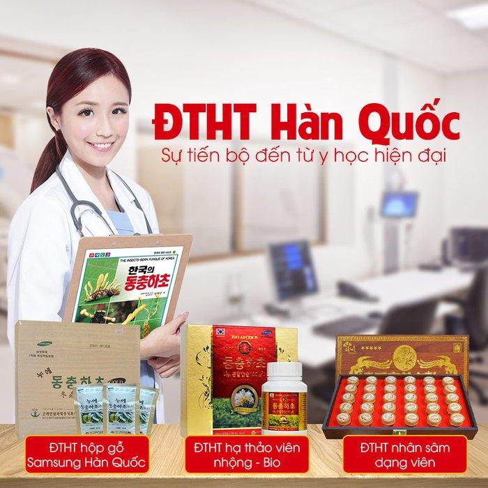 Sản phẩm đông trùng hạ thảo đến từ Hàn Quốc