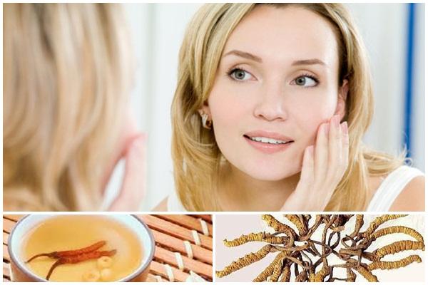 Tác dụng ngăn ngừa lão hóa của đông trùng hạ thảo